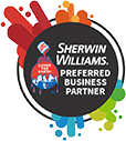 Sherwin Williams Preferred Partner logo